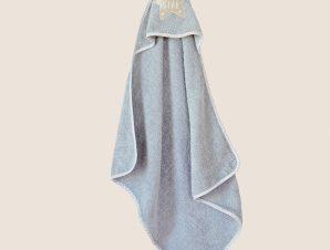 Βρεφική Κάπα Melinen Baby Little Star Grey