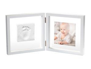 Κορνίζα Αποτύπωμα 2 Θέσεων Baby Art My Baby Style Simple Transparent BR73761