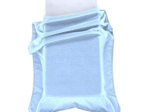 Κουβέρτα Βελουτέ Αγκαλιάς Morven Bubbles J61/45 Σιέλ