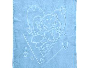 Κουβέρτα Βελουτέ Κούνιας Kentia Baby Amica 19