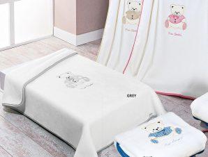 Κουβέρτα Βελουτέ Κούνιας Pierre Cardin Nancy 545
