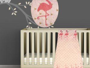 Κουβέρτα Πλεκτή Αγκαλιάς Morven Flamingo 1850