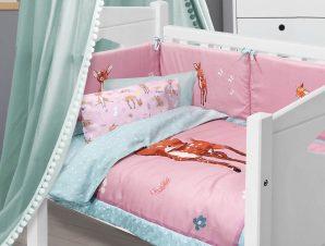 Κουβερλί Κούνιας Das Home Baby Fun Line 4756