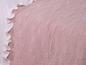 Κουβερλί Κούνιας Nef-Nef Baby Stars Pink
