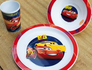 Παιδικό Σετ Φαγητού 3τμχ Ango Cars
