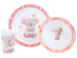 Παιδικό Σετ Φαγητού 3τμχ Ango Koala