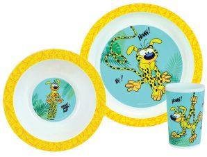 Παιδικό Σετ Φαγητού 3τμχ Ango Marsupilami
