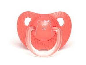 Πιπίλα Σιλικόνης Ανατομική 6-18Μ Suavinex Bear D.Pink