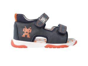 Garvalin βρεφικά παπούτσια με διπλό velvcro (24-26) – 212608-1 – Μπλε Σκούρο