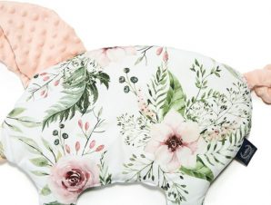 Sleepy Pig Wild Blossom Minky Powder Pink