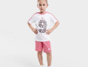 adidas Performance Lil 3-stripes sporty summer Βρεφικό Σετ (9000068519_15071)