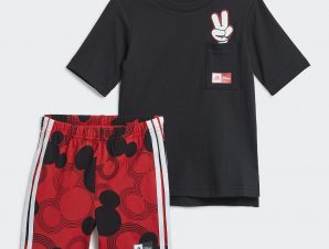 adidas Mickey Mouse Summer Βρεφικό Σετ (9000068506_17744)
