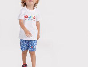 BodyTalk Bdtkinf Sετ Tshirt & Short T&B 100%Co (9000073272_51493)