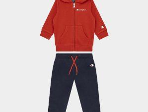 Champion Hooded Full Zip Παιδικό Σετ (9000082659_54082)