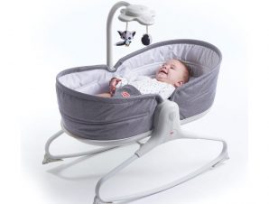 Relax Λικνιζόμενο Tiny Love 3 In 1 Rocker Napper Grey BR74779