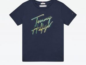 Tommy Jeans Script Print Βρεφικό T-shirt (9000074743_41277)